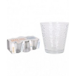 SET 6 VASOS 250cc MALAQ CRACKLE