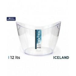 CUBITERA PLÁSTICO 12 LITROS ICELAND