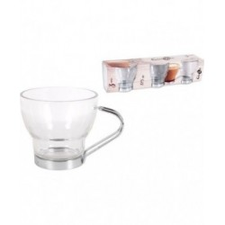 SET 3 VASOS TÉ 175cc GLASSIC