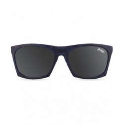 GAFAS DE SOL BARREL BLUE WOODEN - NEGRO
