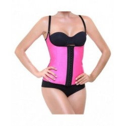 CORSET LATEX SHAPE FUCSIA